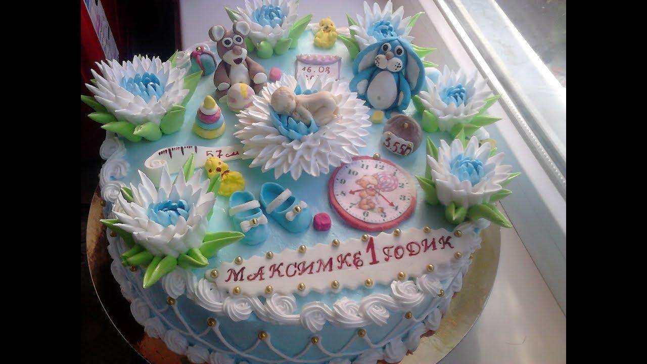Делаем Безе и украшаем торт мальчику