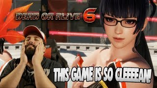 THIS GAME GOT ME FEELING MYSELF!! | Dead Or Alive 6 Nyutengu Online Ranked Matches