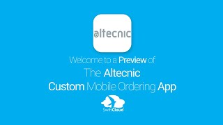 Altecnic - Mobile App Preview - ALT101W