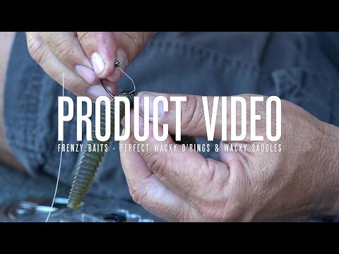 Product Video - Frenzy Baits - Perfect Wacky O'Rings & Wacky Saddles