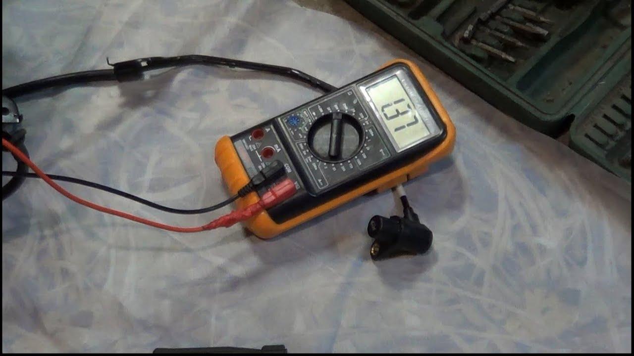 как проверить датчик abs audi 100 c4