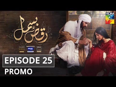 Raqs-e-Bismil Episode 25 Promo |Presented by Master Paints, Powered by West Marina & Sandal | HUM TV