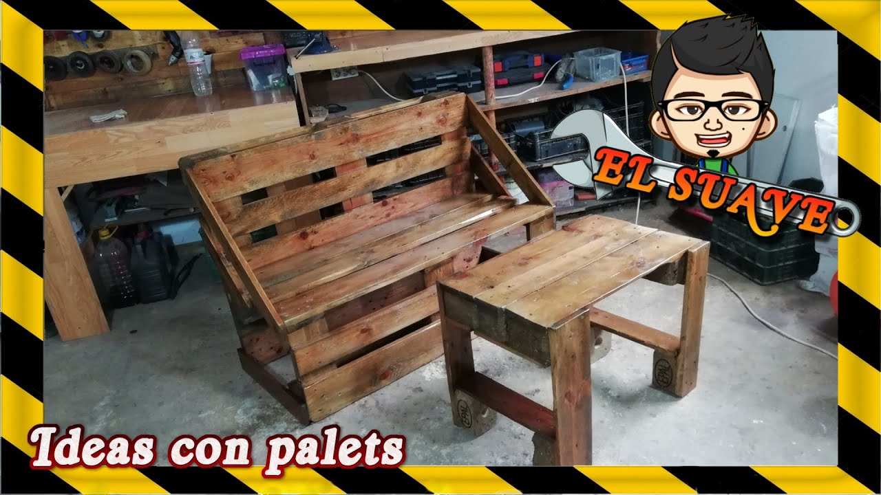 Muebles Baza Make Your Own Garden Furniture With Palets