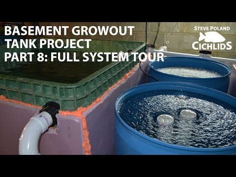 (8 Of 8) Basement Growout Tank Project - Full System Tour And Wrapup