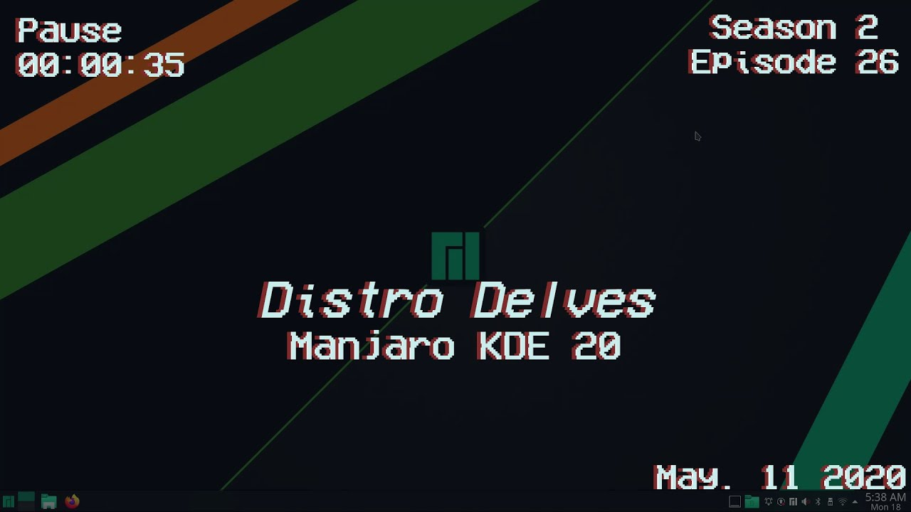 Manjaro KDE 20 Review | Distro Delves S2:Ep26