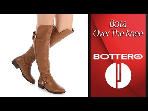 9bb6c85a6 Bota Over The Knee Feminina Bottero - 6010413683 - YouTube