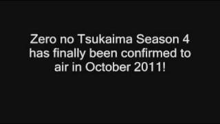 Zero no Tsukaima Season 4 CONFIRMED Official Announcement + First Comments