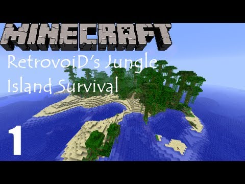 Minecraft Jungle Island Survival - Episode 1
