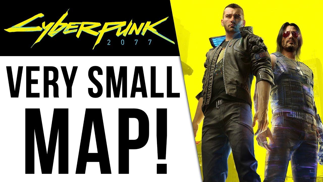 Cyberpunk 2077 - Very Small Map Size, NPC Population & More! thumbnail