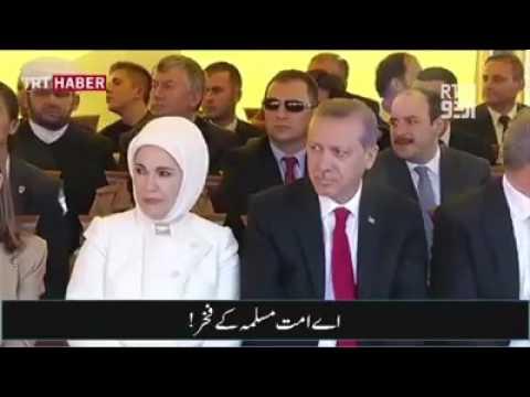 Amazing tribute to Turkish President Recep Tayyip Erdogan