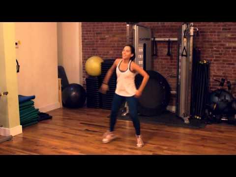 """Zumba dance routine """"Danza Kuduro"""" choreographed by Sara Moessle"""