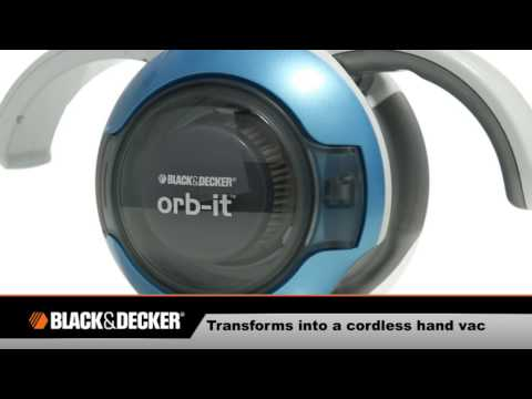 Black & Decker Cordless Orb-It Dustbuster Vacuum