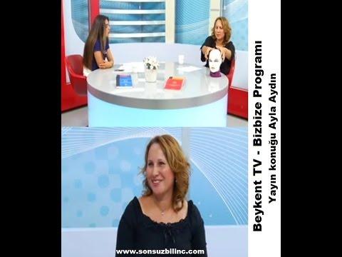 Ayla Aydın, Beykent TV Bizbize program konuğu idi, Access The Barsı anlattı