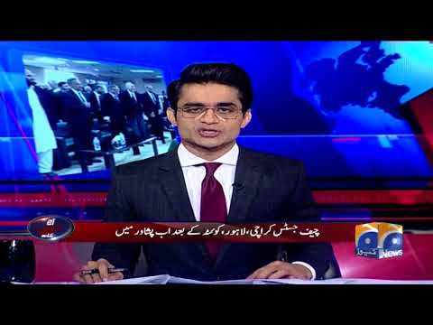 Aaj Shahzeb Khanzada Kay Sath - 19 April 2018 - Geo News