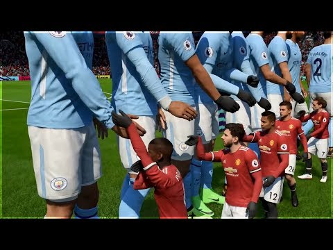 GIANT PLAYERS vs TINY PLAYERS ON FIFA 18