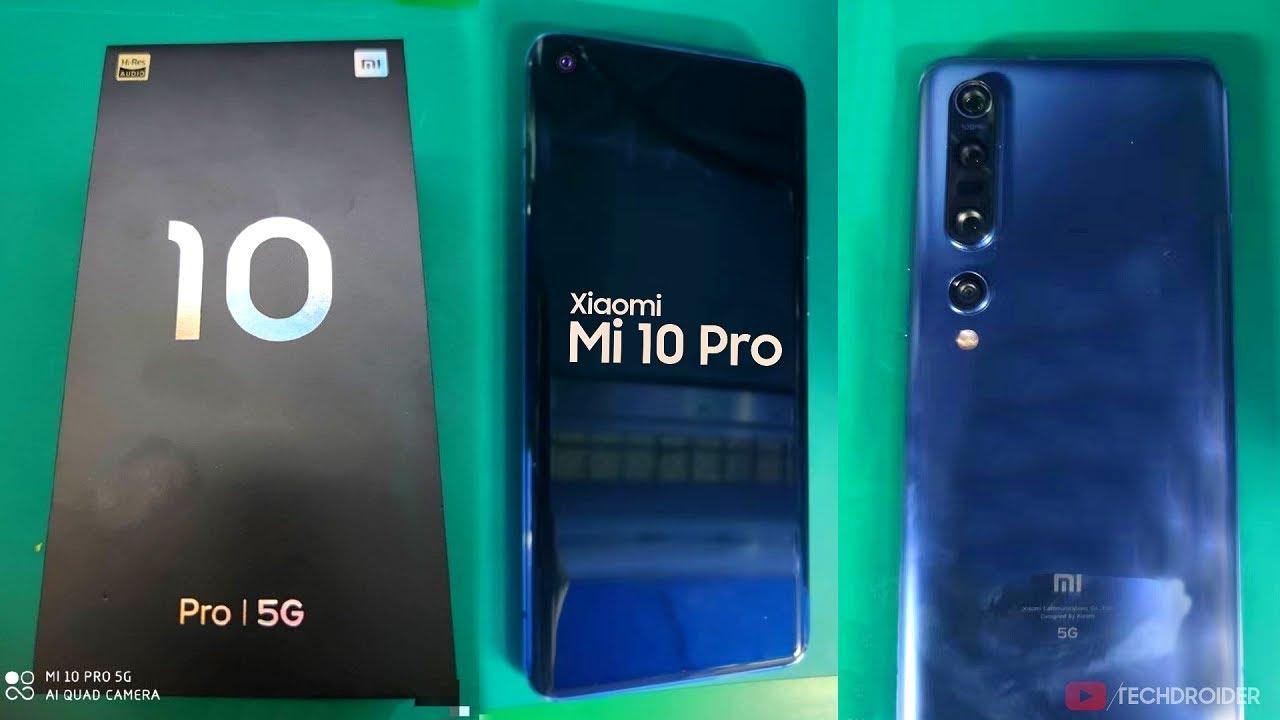 Xiaomi Mi 10 Pro - LIVE LOOK!