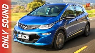 New opel ampera-e 2017 - first test drive only sound