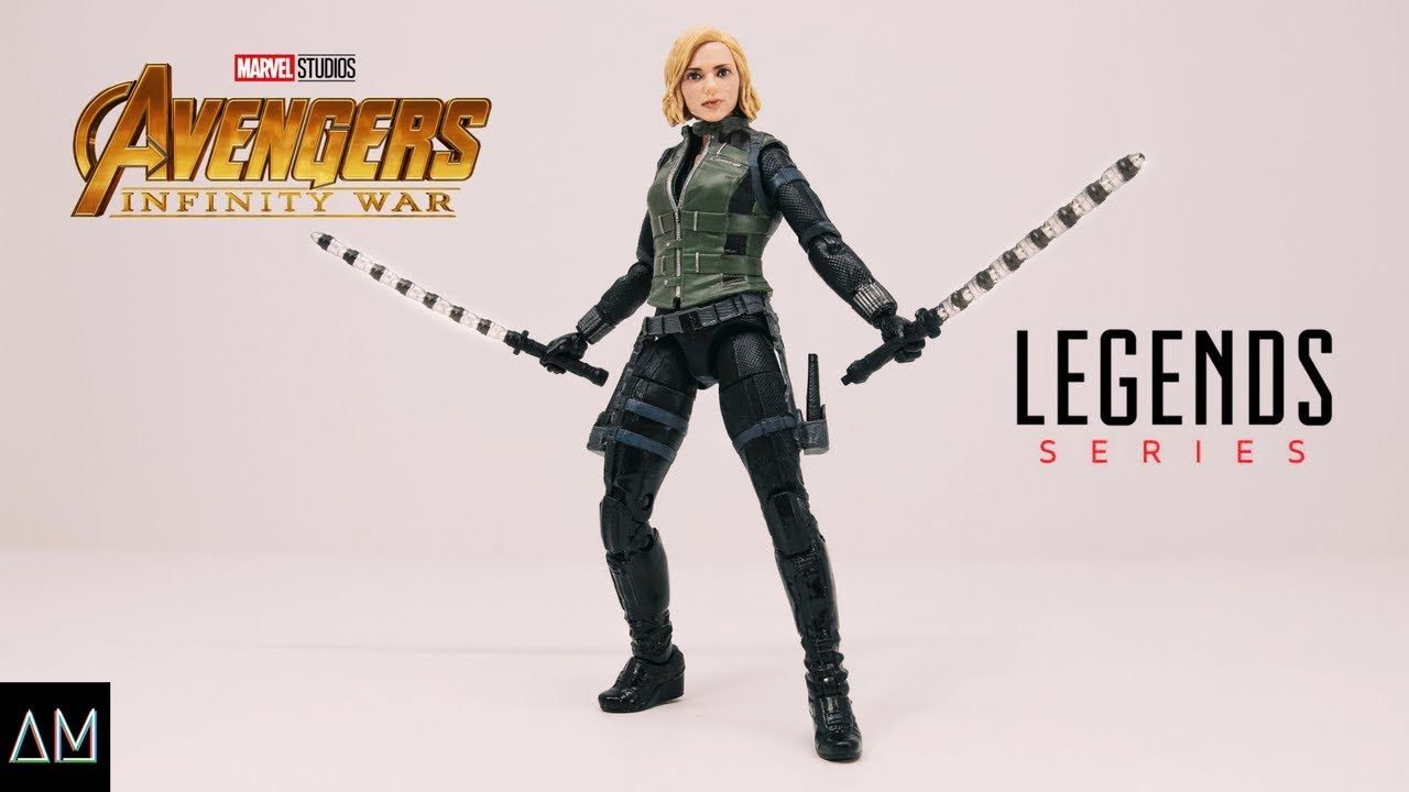 Marvel Legends Avengers Infinity War Black Widow Review