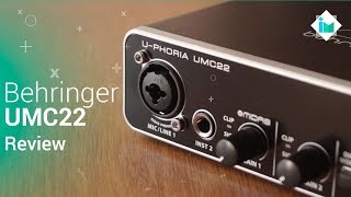 Behringer UMC22 Interface de audio - Review en español