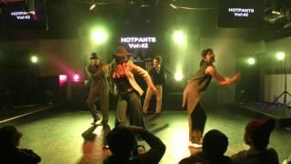 SOUL de SOLEIL(ちゃう+メガネ+Qoo+Kraus) HOT PANTS vol.42 DANCESHOWCASE