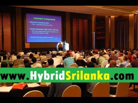 Free Seminar about Hybrid Vehicles in Sri Lanka - (සිංහලෙන්)