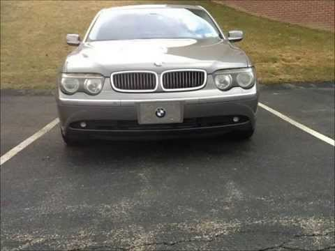 used 2003 bmw 745li for sale 9 999 at pittsburg pa youtube. Black Bedroom Furniture Sets. Home Design Ideas