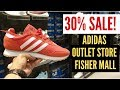 30% SALE sa Fisher Mall QC Adidas Outlet Store