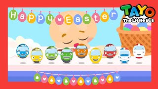 *NEW* Happy Easter Color Song1 | Ten In The Bed(+more) l Songs for Children l Tayo the Little Bus