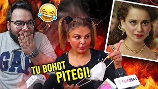 Sakhi Rawant just ROASTED Kangana &...Herself!😂 | Shivam Trivedi