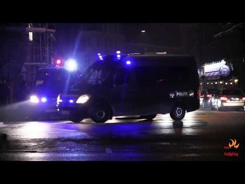 Copenhagen Police: 7 units responding