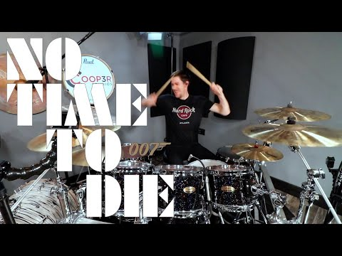 if NO TIME TO DIE had drums – Billie Eilish – Drum Cover – James Bond 007