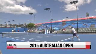 S. Korean Hong Seong-chan heads to Australian Open junior boys′ singles final