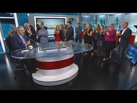 The CBC's Terry Milewski signs off after almost 40 years.