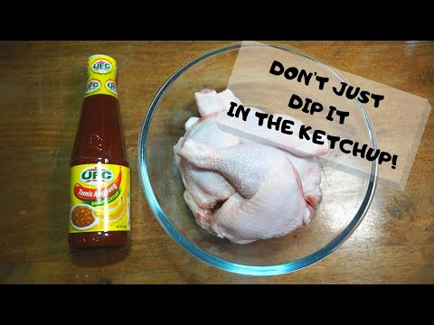 KETCHUP FRIED CHICKEN | MY MOM'S SECRET RECIPE REVEALED