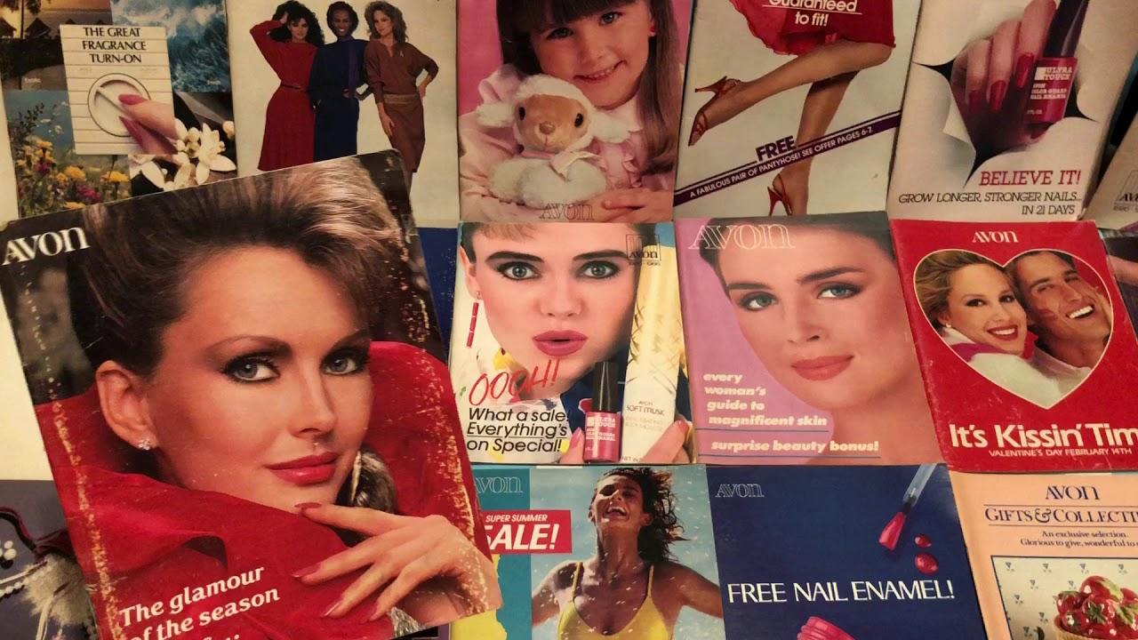 1980 avon catalogues