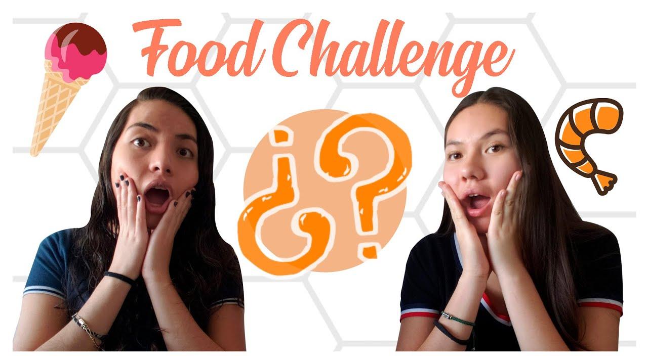 Food Challenge | Adivinando qué comemos
