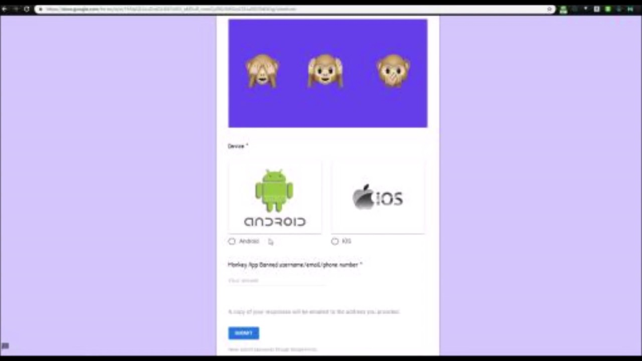 How to get UNBANNED on Monkey App (*WORKING 2019 JULY*)