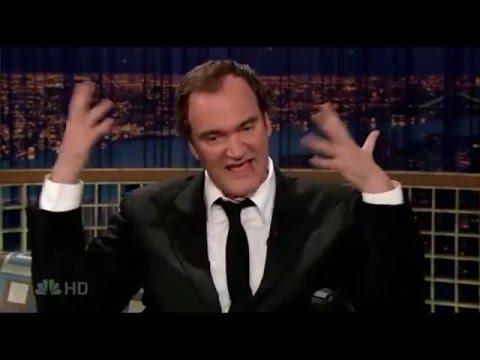 Quentin Tarantino talks