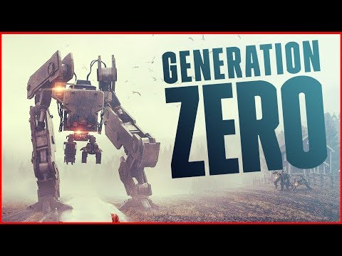 THEY SWARMED! So Many Advanced Artificial Intelligence Threats!  Generation Zero Gameplay Part 2
