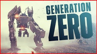 THEY SWARMED! So Many Advanced Artificial Intelligence Threats! - Generation Zero Gameplay Part 2