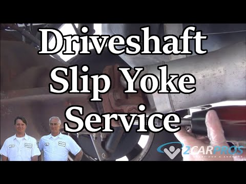 Drive Shaft Removal and Slip Yoke Service Ford F-150 2011-2014