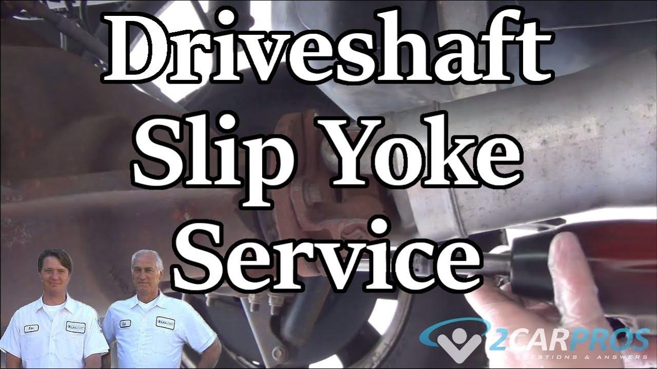 Drive Shaft Removal And Slip Yoke Service Ford F 150 2011 2014 Youtube 4 2 V6 Engine Diagram