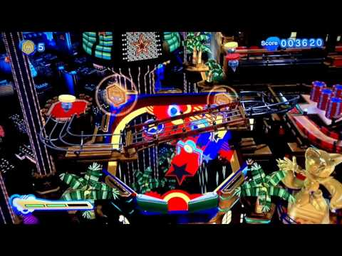 Sonic Generations Casino Night Pinball (DLC)