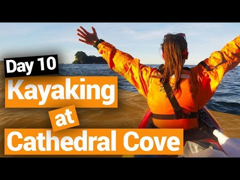 Cathedral Cove Kayak Tour - New Zealand's Biggest Gap Year - Backpacker Guide New Zealand