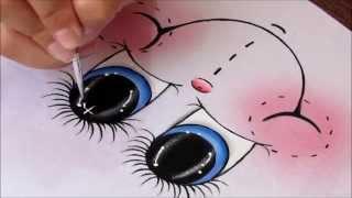 Aprenda a pintar olhinhos de maneira muito fácil!