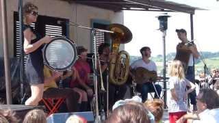 Tuba Skinny - Oriental Strut - Rapperswil 30 juni 2013