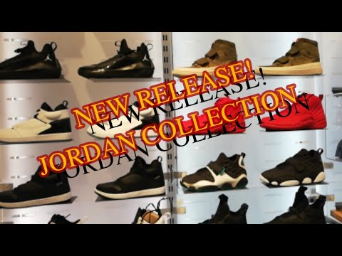 NEW JORDAN SNEAKER COLLECTION @ The Athlete's Foot Makati