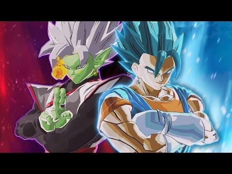 GOD VS MORTALS MOD DLC PACK! Merged Zamasu VS SSB Vegito MARATHON! Dragon Ball Xenoverse 2