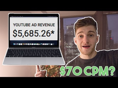 How Much Does Youtube Pay Me? - $70 CPM Ad Revenue! - Viral Video Google Adsense Revenue