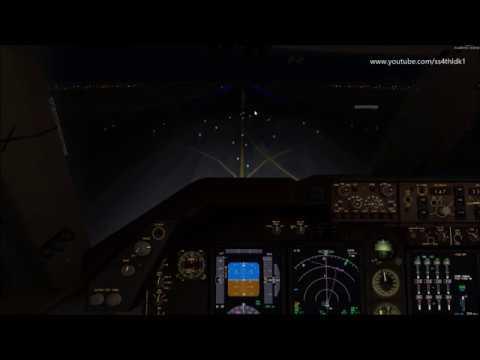 P3D V3.4 PMDG 747-400 Korean Air 1426 RNAV Approach Rwy 33R At Incheon